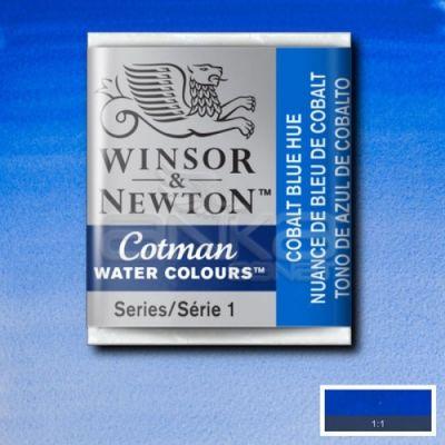 Winsor & Newton Tablet Sulu Boya No:179 Cobalt Blue Hue - 179 Cobalt Blue Hue