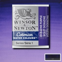 Winsor&Newton - Winsor & Newton Tablet Sulu Boya No:231 Dioxazine Violet