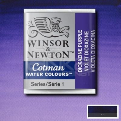 Winsor & Newton Tablet Sulu Boya No:231 Dioxazine Violet - 231 Dioxazine Violet