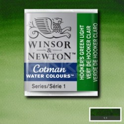 Winsor&Newton - Winsor & Newton Tablet Sulu Boya No:314 Hookers Green Light