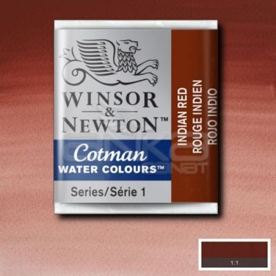Winsor & Newton Tablet Sulu Boya No:317 İndian Red - 317 İndian Red