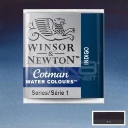 Winsor&Newton - Winsor & Newton Tablet Sulu Boya No:322 Indigo