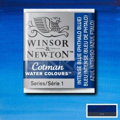 Winsor & Newton Tablet Sulu Boya No:327 Intense Blue - 327 Intense Blue