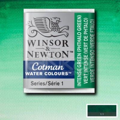 Winsor & Newton Tablet Sulu Boya No:329 Intense Green - 329 Intense Green