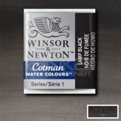 Winsor&Newton - Winsor & Newton Tablet Sulu Boya No:337 Lamp Black