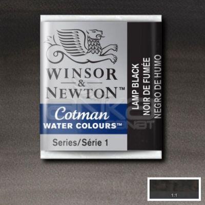 Winsor & Newton Tablet Sulu Boya No:337 Lamp Black - 337 Lamp Black