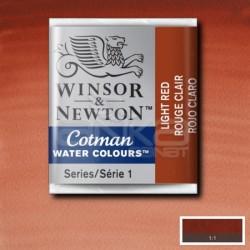 Winsor&Newton - Winsor & Newton Tablet Sulu Boya No:362 Light Red