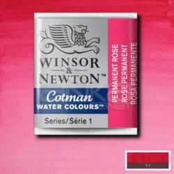 Winsor&Newton - Winsor & Newton Tablet Sulu Boya No:502 Permanent Rose