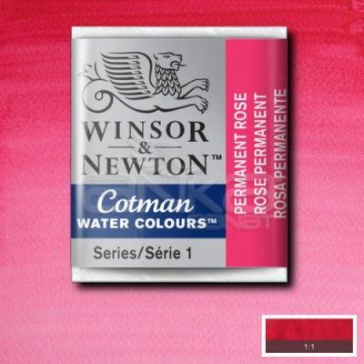 Winsor & Newton Tablet Sulu Boya No:502 Permanent Rose - 502 Permanent Rose