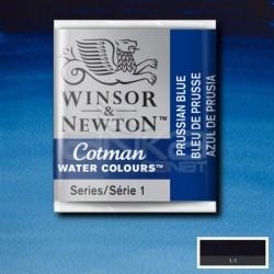 Winsor&Newton - Winsor & Newton Tablet Sulu Boya No:538 Prussian Blue