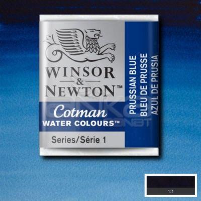Winsor & Newton Tablet Sulu Boya No:538 Prussian Blue - 538 Prussian Blue