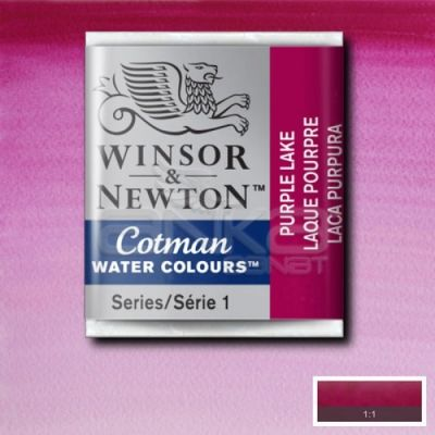 Winsor & Newton Tablet Sulu Boya No:544 Purple Lake - 544 Purple Lake