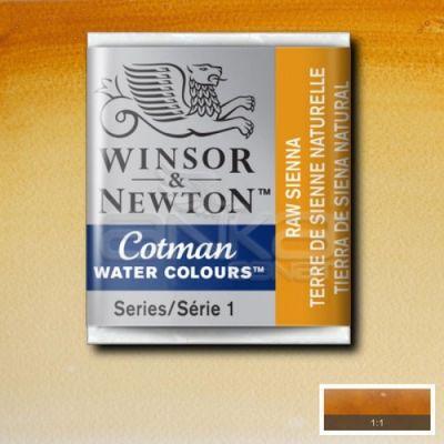 Winsor & Newton Tablet Sulu Boya No:552 Raw Sienna - 552 Raw Sienna