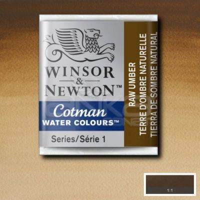 Winsor & Newton Tablet Sulu Boya No:554 Raw Umber - 554 Raw Umber