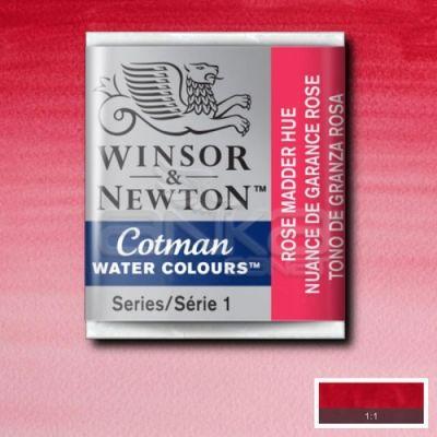 Winsor & Newton Tablet Sulu Boya No:580 Rose Madder Hue - 580 Rose Madder Hue