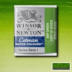 Winsor&Newton - Winsor & Newton Tablet Sulu Boya No:599 Sap Green