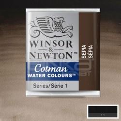 Winsor&Newton - Winsor & Newton Tablet Sulu Boya No:609 Sepia