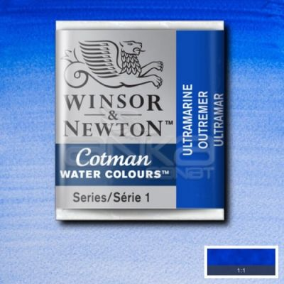 Winsor & Newton Tablet Sulu Boya No:660 Ultramarine - 660 Ultramarine
