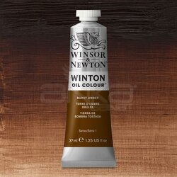 Winsor&Newton - Winsor&Newton Winton Yağlı Boya 37ml 076 Burnt Umber