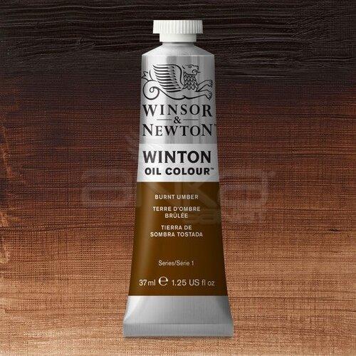 Winsor&Newton Winton Yağlı Boya 37ml 076 Burnt Umber - 076 Burnt Umber