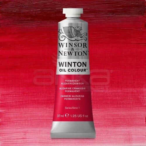 Winsor&Newton Winton Yağlı Boya 37ml 468 Permanent Alizarin Crimson - 468 Permanent Alizarin Crimson