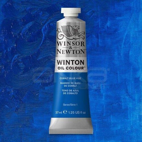 Winsor&Newton Winton Yağlı Boya 37ml 179 Cobalt Blue Hue - 179 Cobalt Blue Hue