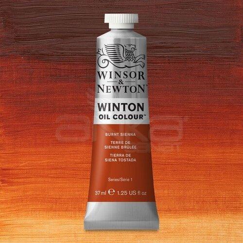 Winsor&Newton Winton Yağlı Boya 37ml 074 Burnt Sienna - 074 Burnt Sienna