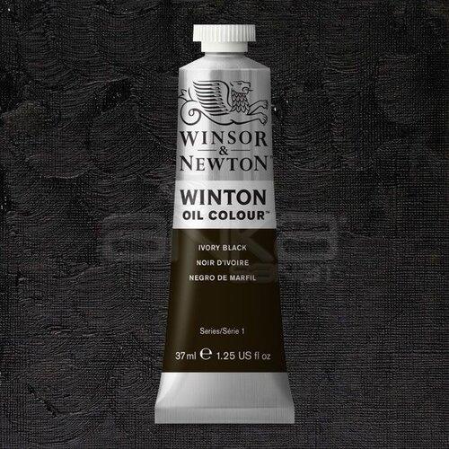 Winsor&Newton Winton Yağlı Boya 37ml 331 Ivory Black - 331 Ivory Black