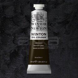Winsor&Newton - Winsor&Newton Winton Yağlı Boya 37ml 337 Lamp Black