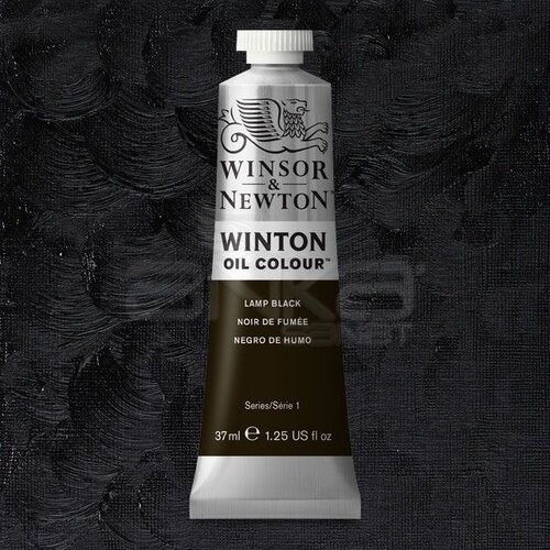Winsor&Newton Winton Yağlı Boya 37ml 337 Lamp Black - 337 Lamp Black
