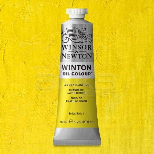 Winsor&Newton Winton Yağlı Boya 37ml 346 Lemon Yellow Hue - 346 Lemon Yellow Hue