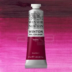 Winsor&Newton - Winsor&Newton Winton Yağlı Boya 37ml 380 Magenta