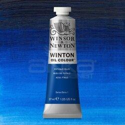 Winsor&Newton - Winsor&Newton Winton Yağlı Boya 37ml 516 Phthalo Blue