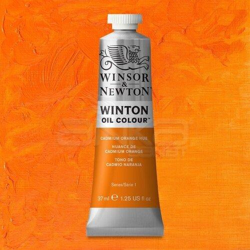 Winsor&Newton Winton Yağlı Boya 37ml 090 Cadmium Orange Hue - 090 Cadmium Orange Hue