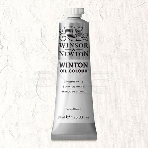 Winsor&Newton Winton Yağlı Boya 37ml 644 Titanium White - 644 Titanium White