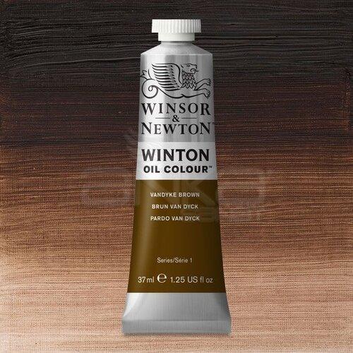Winsor&Newton Winton Yağlı Boya 37ml 676 Vandyke Brown - 676 Vandyke Brown