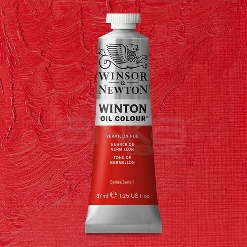 Winsor&Newton Winton Yağlı Boya 37ml 682 Vermilion Hue - 682 Vermilion Hue