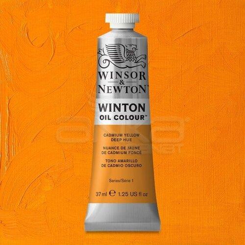 Winsor&Newton Winton Yağlı Boya 37ml 115 Cadmium Yellow Deep Hue - 115 Cadmium Yellow Deep Hue