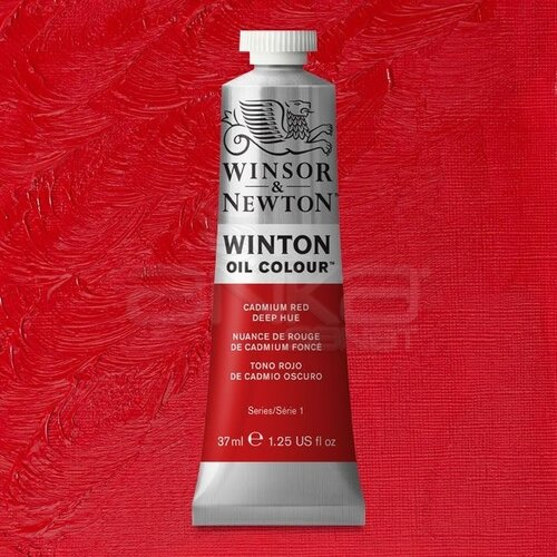 Winsor&Newton Winton Yağlı Boya 37ml 098 Cadmium Red Deep Hue - 098 Cadmium Red Deep Hue