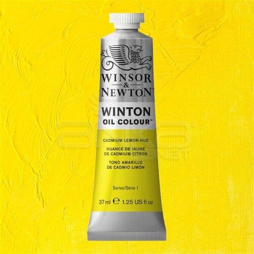 Winsor&Newton Winton Yağlı Boya 37ml 087 Cadmium Lemon Hue - 087 Cadmium Lemon Hue