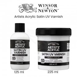 Winsor&Newton - Winsor&Newton Artists Acrylic Satin UV Varnish