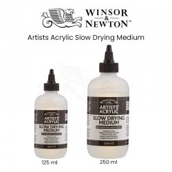 Winsor&Newton Artists Acrylic Slow Drying Medium - Thumbnail