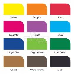 Winsor&Newton - Winsor&Newton Brush Marker 12+1 Set Vibrant Tones (1)