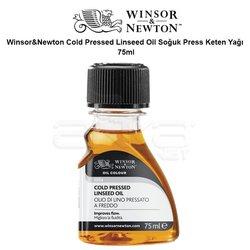 Winsor&Newton Cold Pressed Linseed Oil Soğuk Press Keten Yağı 75ml - Thumbnail