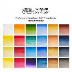 Winsor&Newton - Winsor&Newton Professional Sulu Boya 24lü Yarım Tablet (1)