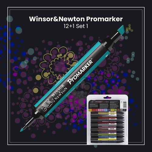 Winsor&Newton Promarker 12+1 Set 1