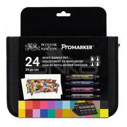 Winsor&Newton - Winsor&Newton Promarker 24lü Mixed Set