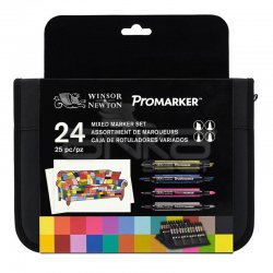Winsor&Newton Promarker 24lü Mixed Set - Thumbnail