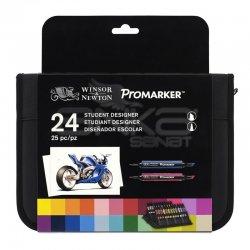 Winsor&Newton - Winsor&Newton Promarker 24lü Wallet Set