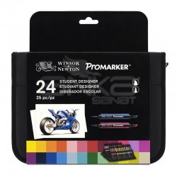 Winsor&Newton Promarker 24lü Wallet Set - Thumbnail